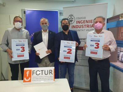 COIICV, CONHOSTUR y FOTUR firman un acuerdo para fomentar la emisión de informes técnicos de instalaciones de ventilación