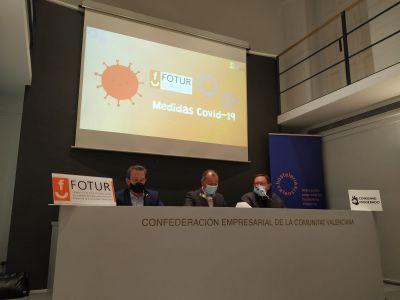 HOSTELERÍA VALENCIA Y FOTUR PRESENTAN UNA CAMPAÑA DE CONCIENCIACIÓN DE MEDIDAS FRENTE AL COVID-19