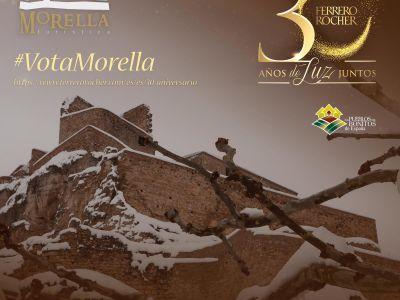 Morella y Ferrero Rocher. 30 años de luz juntos