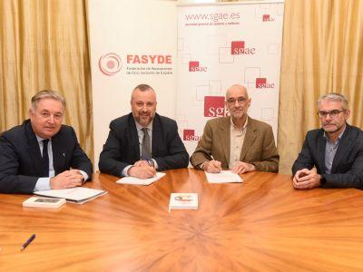 NUEVO CONVENIO FASYDE-SGAE