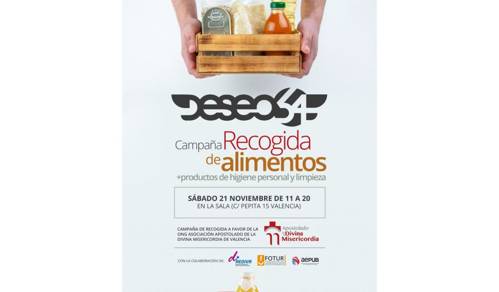 Campaña de recogida de alimentos Deseo 54