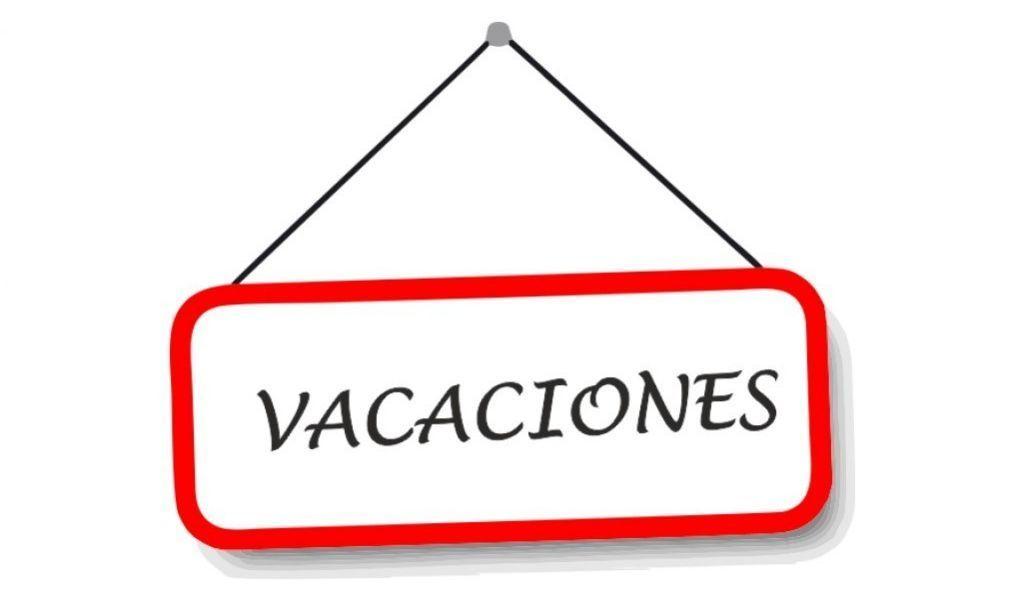 Vacaciones Verano 2021