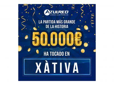 El bingo electrónico Azulred otorga el premio más grande de la historia