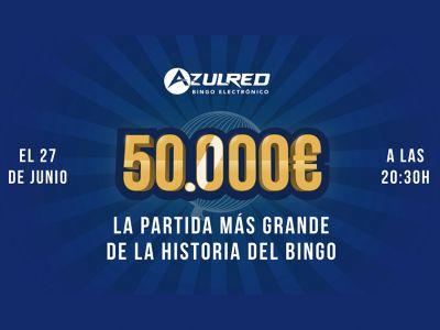 50.000 euros, la partida de bingo más grande de la historia
