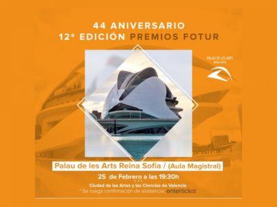 XLIV Gala Anual de Empresarios del Ocio, Turismo y Juego de la Comunitat Valenciana