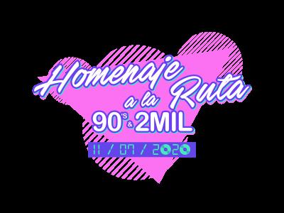 El festival 90s y 2Mil Homenaje a la Ruta confirma a sus primeros artistas para la cita del 11 de julio en València