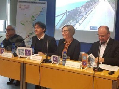 PRESENTACIO DEL TRAÇAT DE L'ITINERARI CICLOTURÍSTICO EUROVELO EV-8 EN LA COMUNITAT VALENCIANA